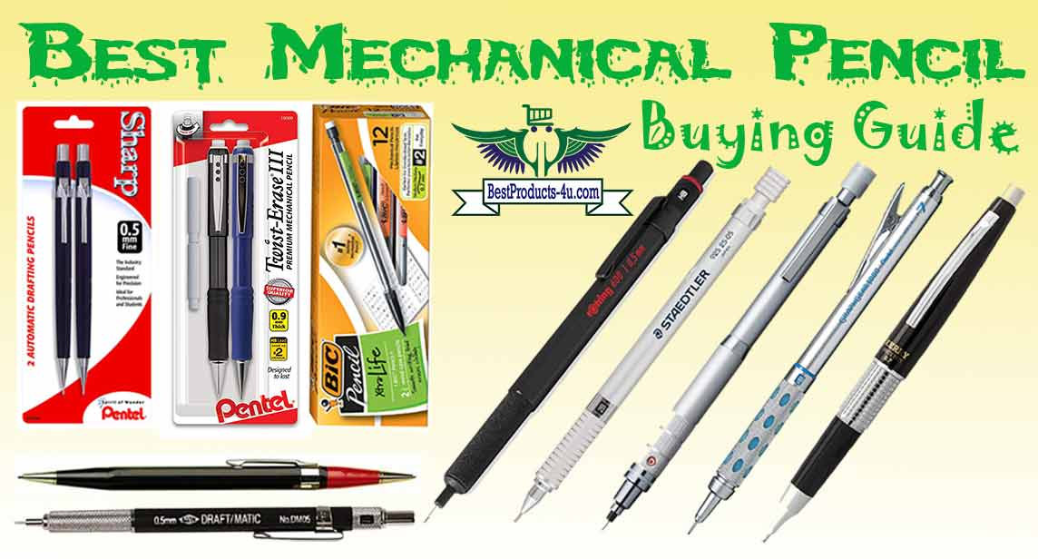 Best Mechanical Pencil 2019 10 Best Mechanical Pencil of 2019 | Best Products For You