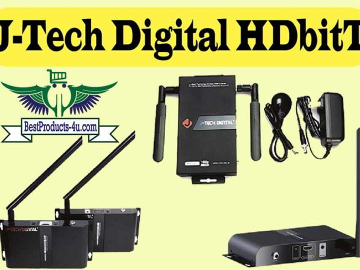 660 Feet Coverage J-Tech Digital HDbitT Series Wireless HDMI Extender Review