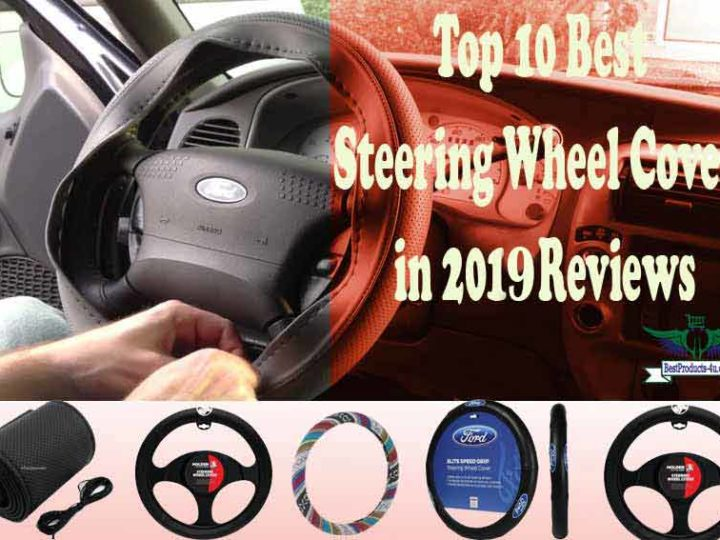 Top 10 Best Steering Wheel Covers in 2019 Reviews