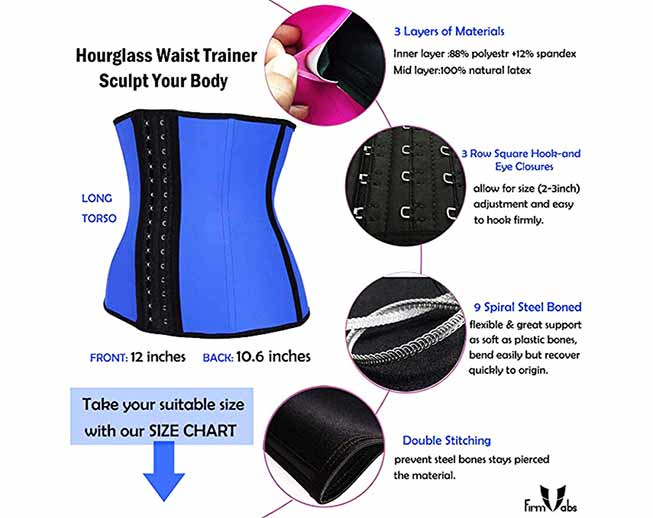 607f59765a5 Top 20 Best Waist Trainer for Weight Loss – Review