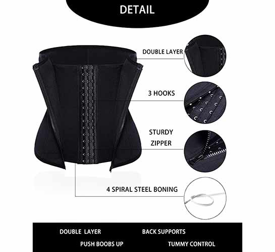 1cf87a3d60 Top 20 Best Waist Trainer for Weight Loss – Review