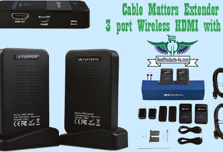 Cable Matters Wireless 4K HDMI Extender Review of 2021