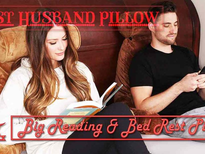 Husband Pillow – Big Reading & Bed Rest Pillow with Arms Review of 2021
