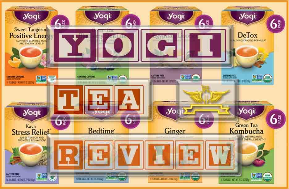 Yogi Tea Flavors and Review of 2020