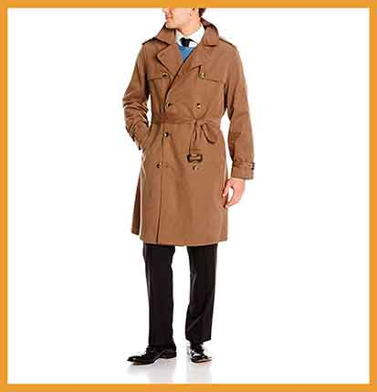 20 Best Mens Trench Coat Reviews | FAQs | Buying Guide of 2020