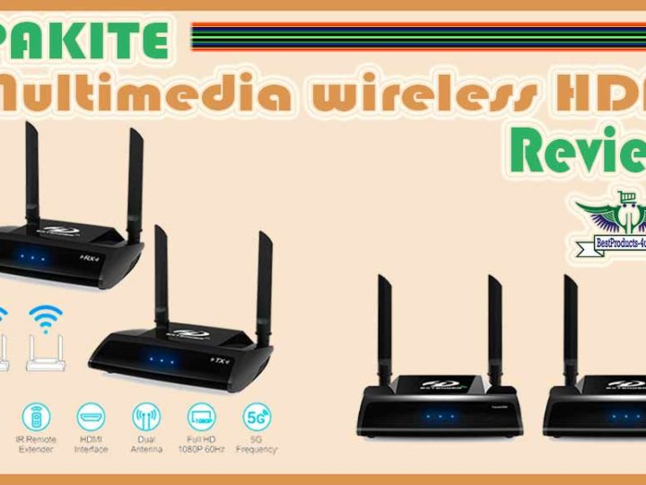 PAKITE Multimedia wireless HDMI Review of 2020 | Wireless HDMI 4k