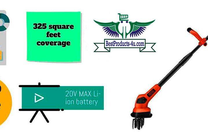 BLACK+ DECKER LGC120 20V Li-ion Cordless Garden Tiller Review