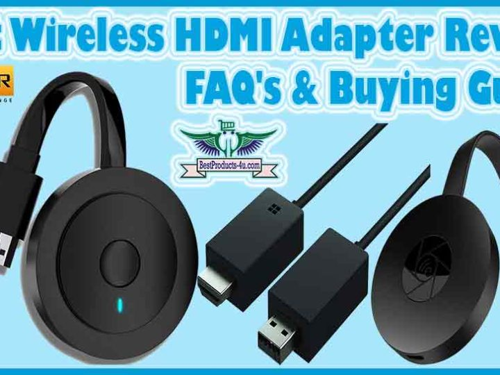 Best Wireless HDMI Adapter Reviews | Wireless Display Adapter of 2021