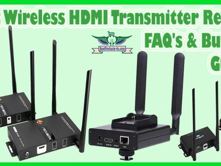 10 Best Wireless HDMI Transmitter and Receiver Reviews of 2021