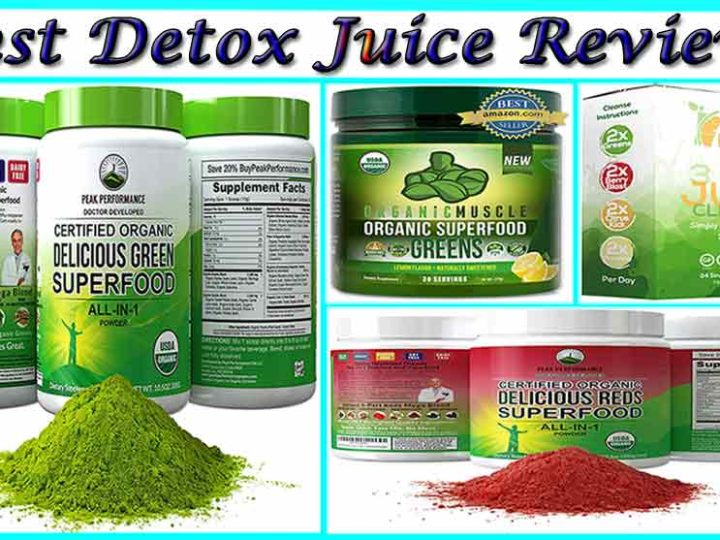 10 Best Detox Juice Cleanse Reviews | Green Juice for Weight Loss Guide of 2020