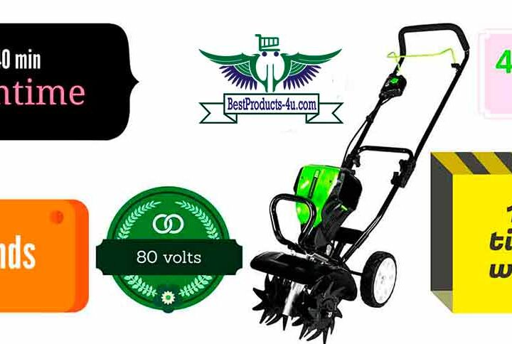 Greenworks 10'' 80V Tiller/Cultivator Review