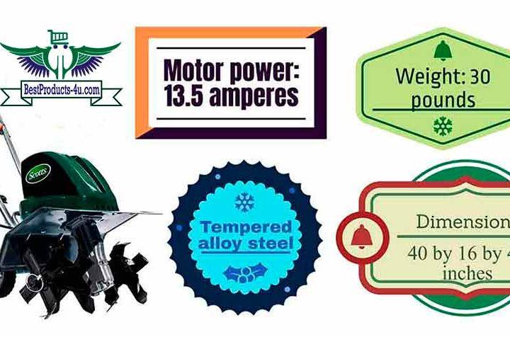 Scotts Outdoor Power Tools TC70135S Tiller Review