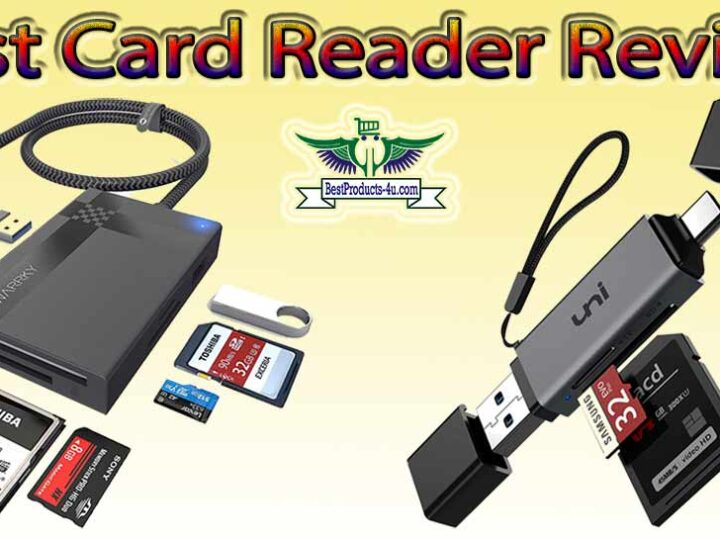 10 Best Card Reader Review of 2021