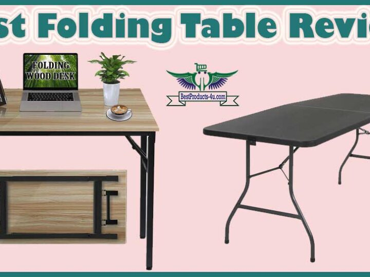10 Best Folding Table Review of 2021