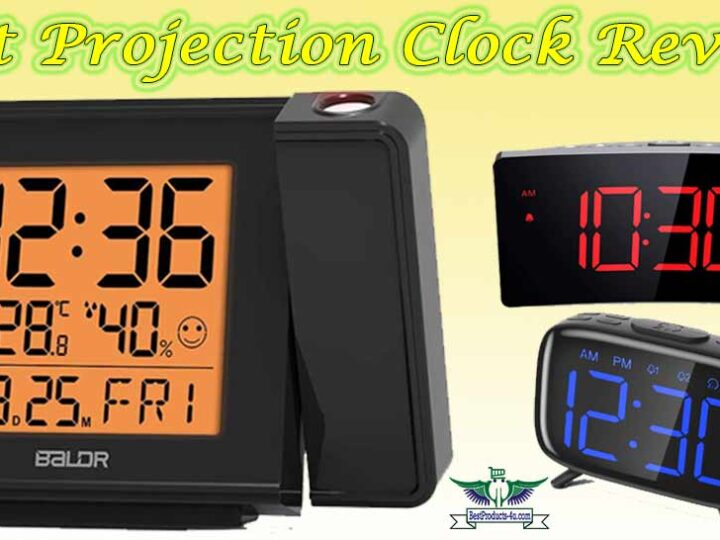 10 Best Projection Clock Review of 2021