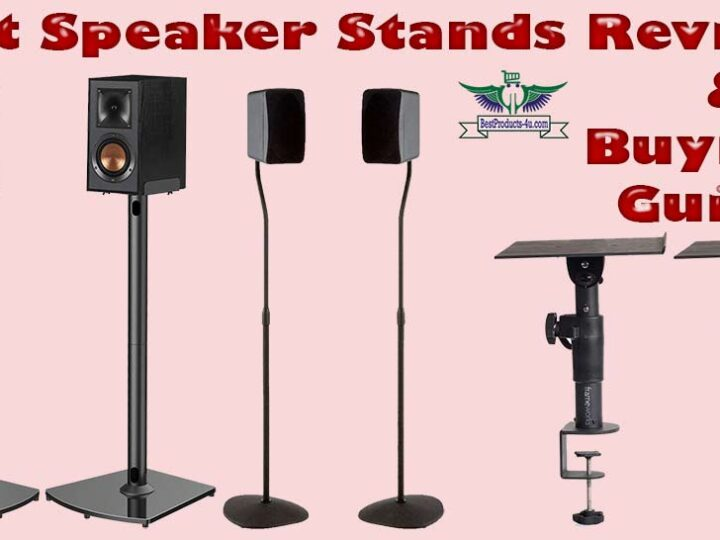 10 Best Speaker Stands Review of 2021